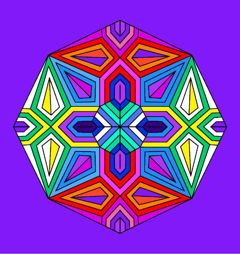 Mandalas are a therapuetic tool for transformation - According to Carl Jung