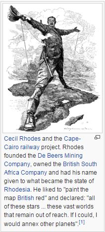 Cecil Rhodes and the Rhodes Scholarship have created some big - time career criminals