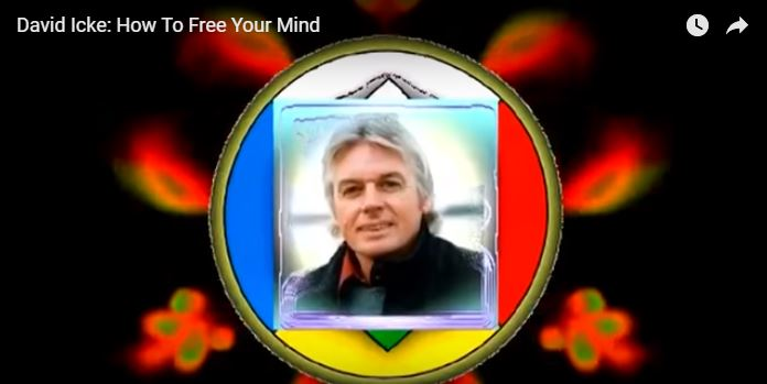 How to Free your Mind According to David Icke - Photo Credit Youtube