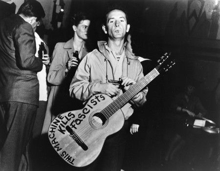 Woody Guthrie had Something for them ol dirty's
